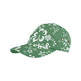 Youth Washed Hawaiian Flower Print Cap