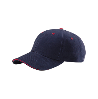 7656-Low Profile (Str) Heavy Brushed Cotton Twill Cap