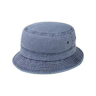 7801-Pigment Dyed Twill Washed Bucket Hat