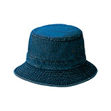 Youth Denim Washed Bucket Hat