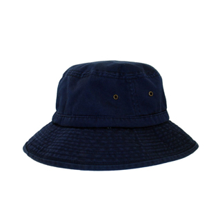 7834-Cotton Twill Washed Bucket Hat
