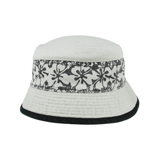 7866-Cotton Twill Washed Bucket Hat