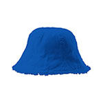 Cotton Washed Frayed Brim Bucket Hat