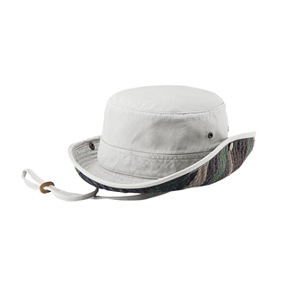 7887-Normal Dyed Twill Washed Bucket Hat