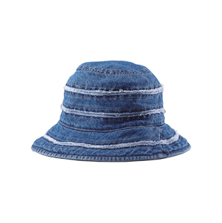 7897Y-Youth Cut & Sewn Denim Bucket Hat