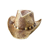 Outback Tea Strained Straw Cowboy Hat