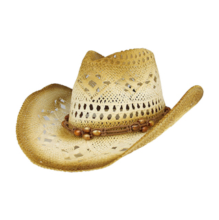 8173-Outback Paper Straw Cowboy Hat