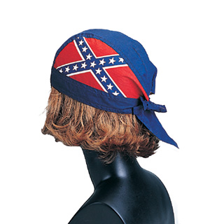 1101M-Rebel Flag Kerchief