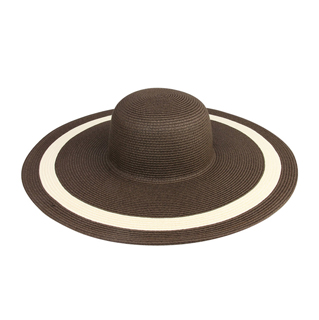 8218-Ladies' Wide Brim Fashion Toyo Hat