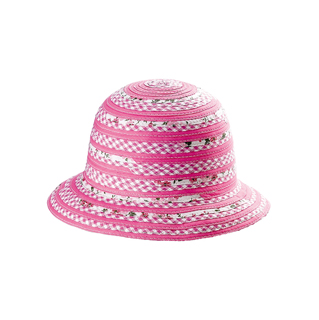 8507Y-Girls' Sewn Braid Hat