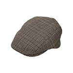 Plaid Fashion Ivy Cap