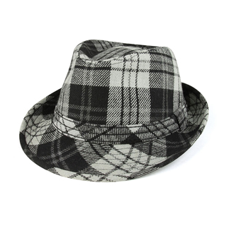 8918-Wool Fedora Hat