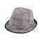 Main - 8924-Plaid Fedora Hat