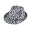 Main - 8935-Leopard Print Faux-Fur Fedora Hat