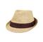 Main - 8937-Toyo Fedora Hat W/Pleated Band