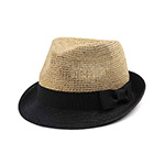 Infinity Selections Raffia  Fedora Hat