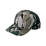 Low Profile Camouflage Twill Cap