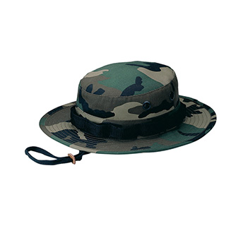 9008A-Camouflage Twill Hunting Hat