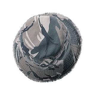 9018-Camouflage Twill Washed Bucket Hat
