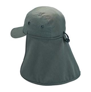 9020B-Camouflage Twill Cap W/Flap
