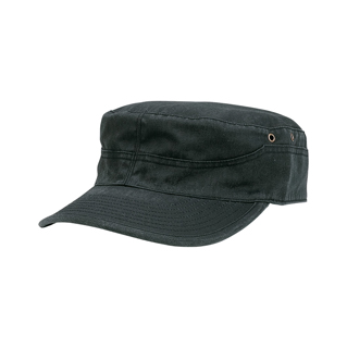 9025-Cotton Twill Washed Army Cap