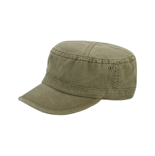9028-Enzyme Washed Camouflage Cap