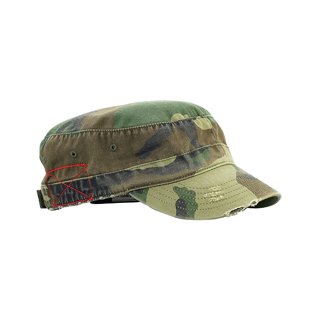 9029-Enzyme Washed Cotton Twill Army Cap
