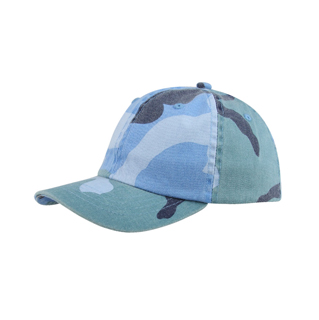 9031XY-Youth Low Profile (Uns) Camo Washed Cap