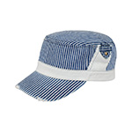 Youth Washed Stripe Denim Fidel Army Cap