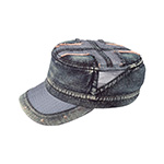 Heavy Washed Army Cap