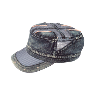 9054A-Heavy Washed Army Cap