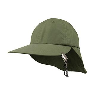 J6933-Juniper Microfiber Flap Cap w/ String & Clip