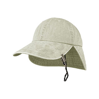 J6934-Juniper Cotton Twill Cap w/ Flap