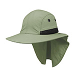 Juniper 4 Panel Flap Cap w/ Wide Brim