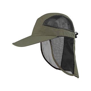 J7210-Juniper Outdoor UV Cap w/ Mesh Flap