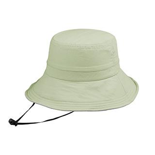 J7229-Juniper Taslon UV Bucket Hat w/ Removable Flap