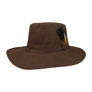 J9705-Juniper Waxed Cotton Canvas Men's Western Hat
