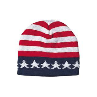 5004A-US Flag Acrylic Beanie