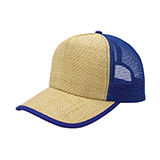 Straw Trucker Cap
