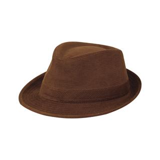 8920-Corduroy Fedora Hat