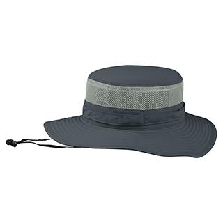 J7231-Juniper Taslon UV Bucket Hat w/ Mesh Crown