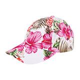 Low Profile (Unstructured) Floral Cap