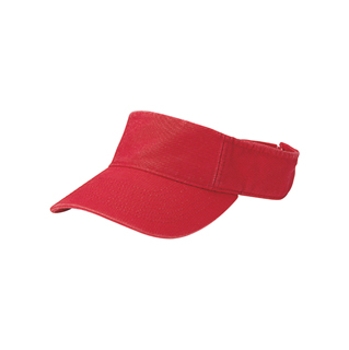 4021A-Pro Style Cotton Twill Washed Visor