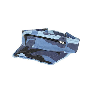 4065-Enzyme Washed Cotton Twill Visor