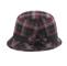 Side - 8944-Infinity Selections Wool Plaid Cloche Hat