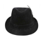 Front - 8948-Infinity Selections Polyester Denim Fedora Hat