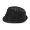 Side - 8948-Infinity Selections Polyester Denim Fedora Hat