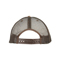 Back - 6582-Low Profile (Soft Str) Canvas Leopard Print Cap