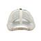 Back - 6853-Low Profile (Uns) Plaid Mesh Cap