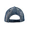 Back - 6889A-Diamond Plate Washed Cap